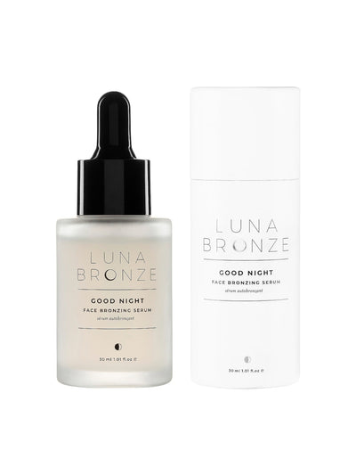 Luna Bronze: Good Night Face Bronzing Serum (GNFBS)