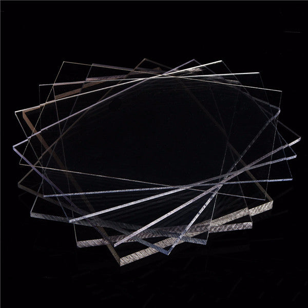 200×200mm Clear Polycarbonate Panel Cutting Carving Plate  2-8mm