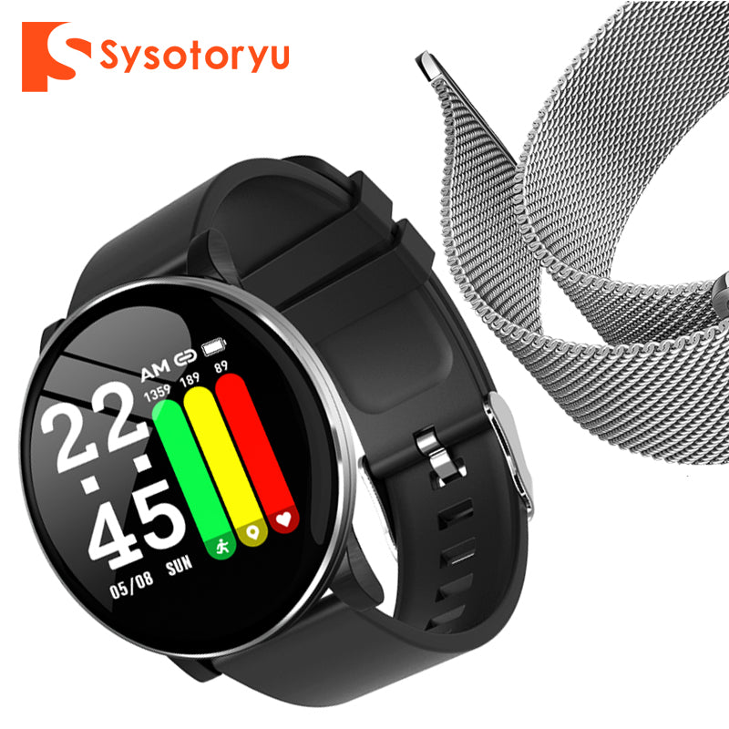 2019 Hot Smart Watch Heart Rate Blood Pressure Smart Watch Men Bluetooth Bracelet Smartwatch Women for Apple IOS Android Phone
