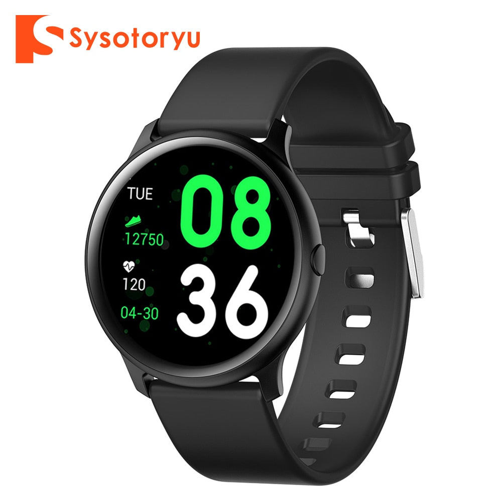 SYSOTORYU Smart watch Men Women Heart rate Blood Pressure monitor Fitness Bracelet For Huawei Xiaomi Android Apple IOS Phone