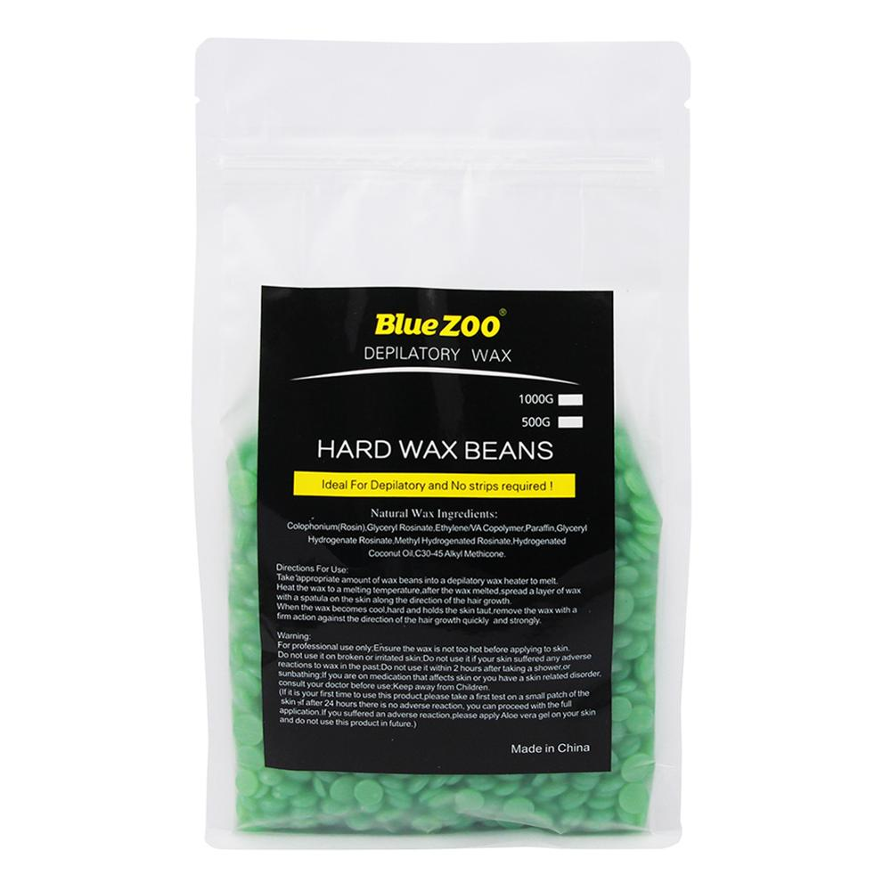 BlueZoo - Painless Hair Removal Wax 500g