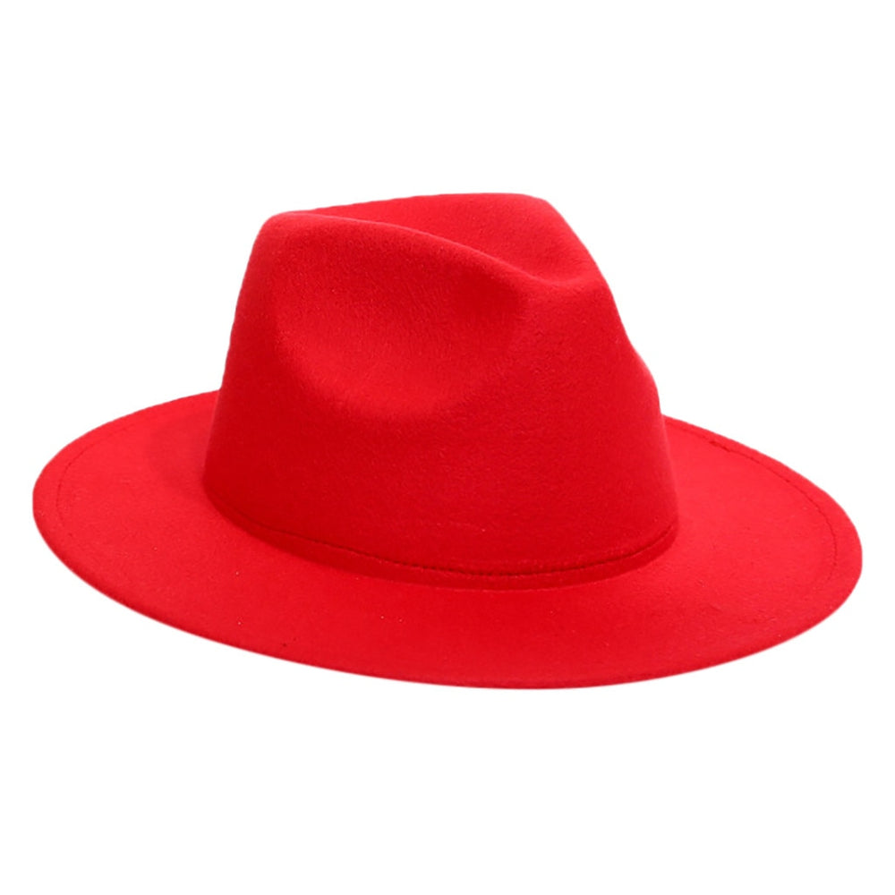 Adult Wool Fedora Hat