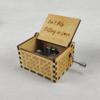 Wooden Music Box