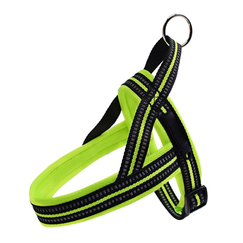 Dog Harness with Reflective Stitching