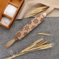 Embossed Holiday Rolling Pins