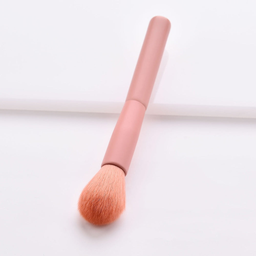10 Pcs Wooden Makeup Brush Set