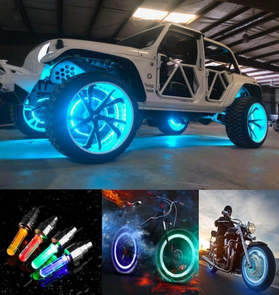 Premium LED Wheel Lights