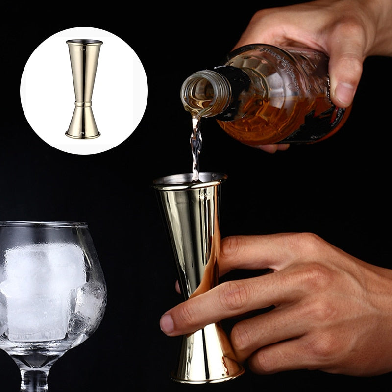 Household Stainless Steel Cocktail Scale Cup Bar