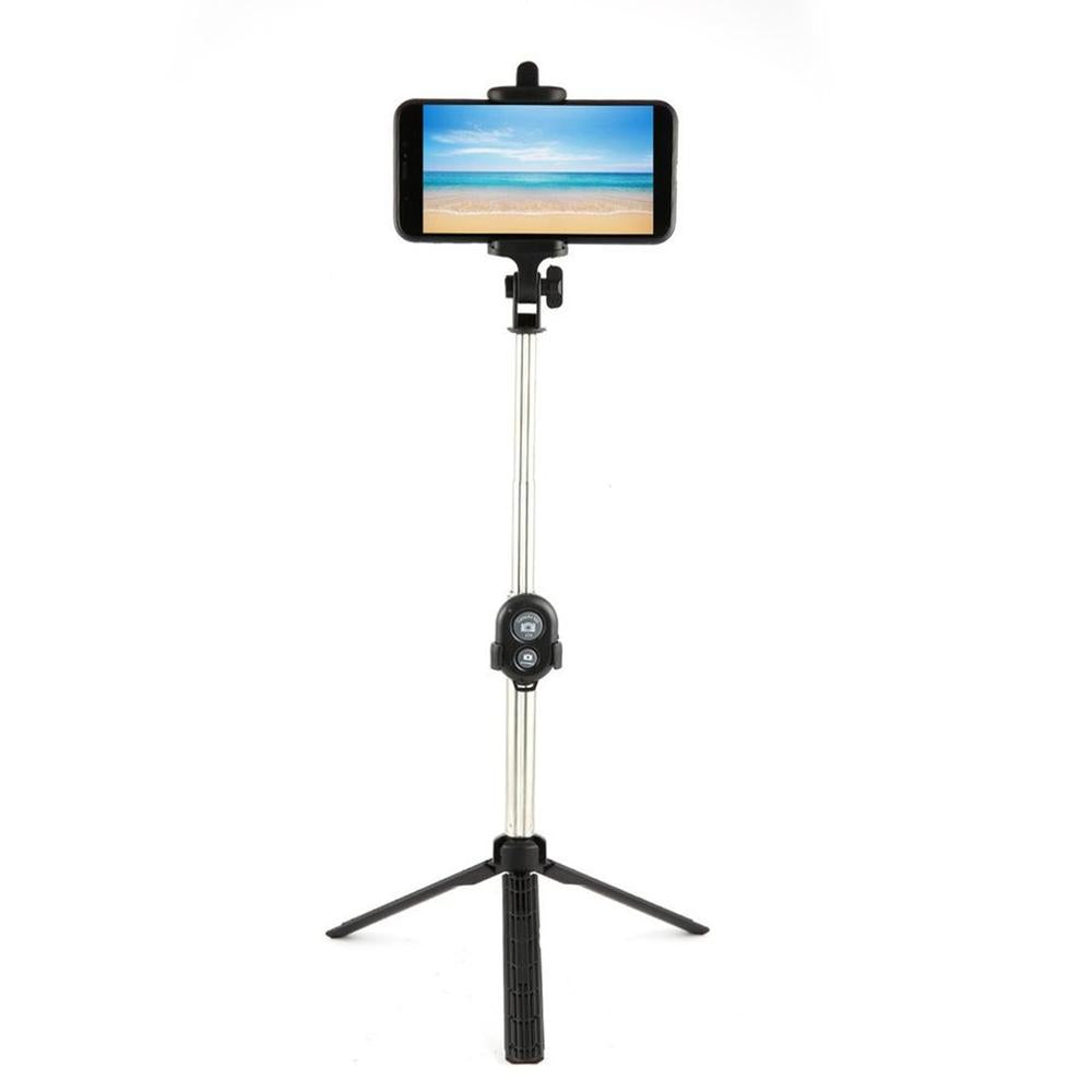 Selfie Stick + Tripod With Remote Control