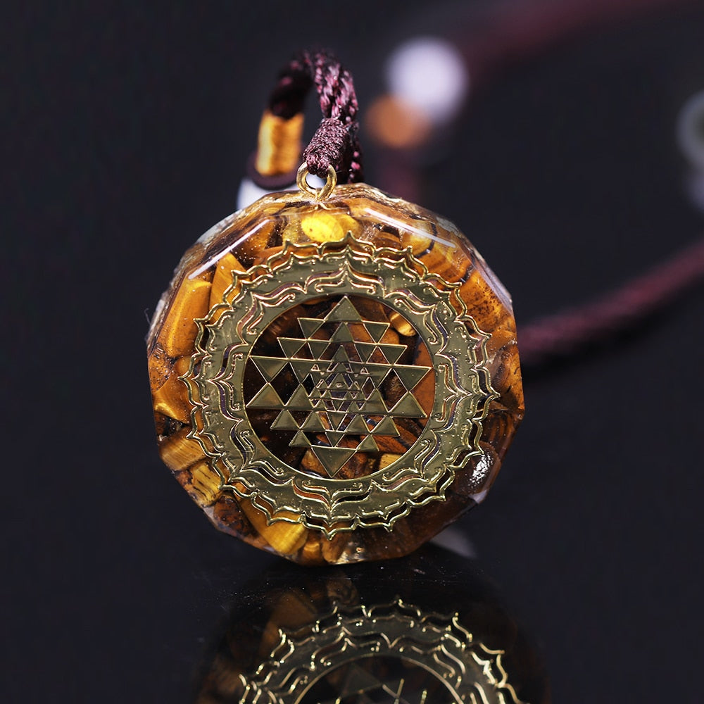 Orgonite Pendant Necklace