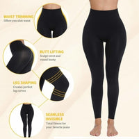 Slimming High Waist Black Legging