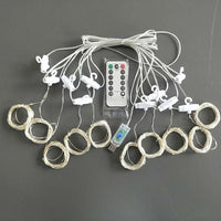 LED Curtain Light USB Remote Control Christmas Decorations
