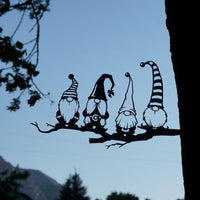 Steel Branch Gnomes Decoration