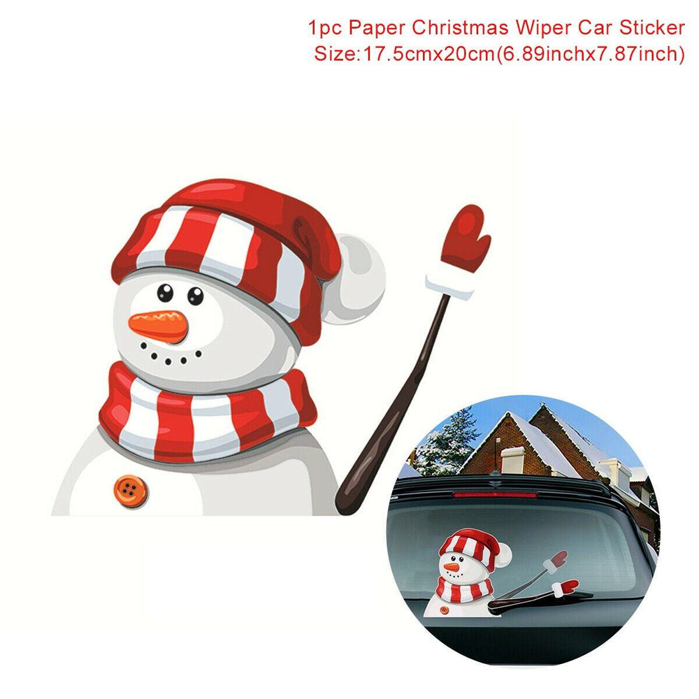 Christmas Windscreen Wipers