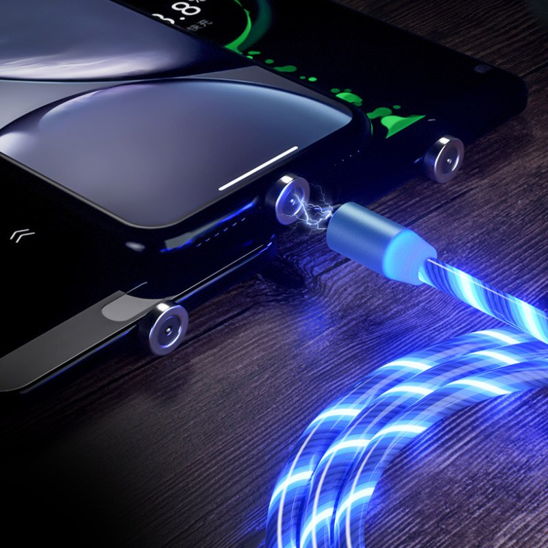 LED Flow USB Magnetic Cable