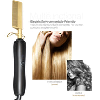 Hair Straightener Heating Comb