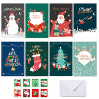 Merry Christmas Small Greeting Cards