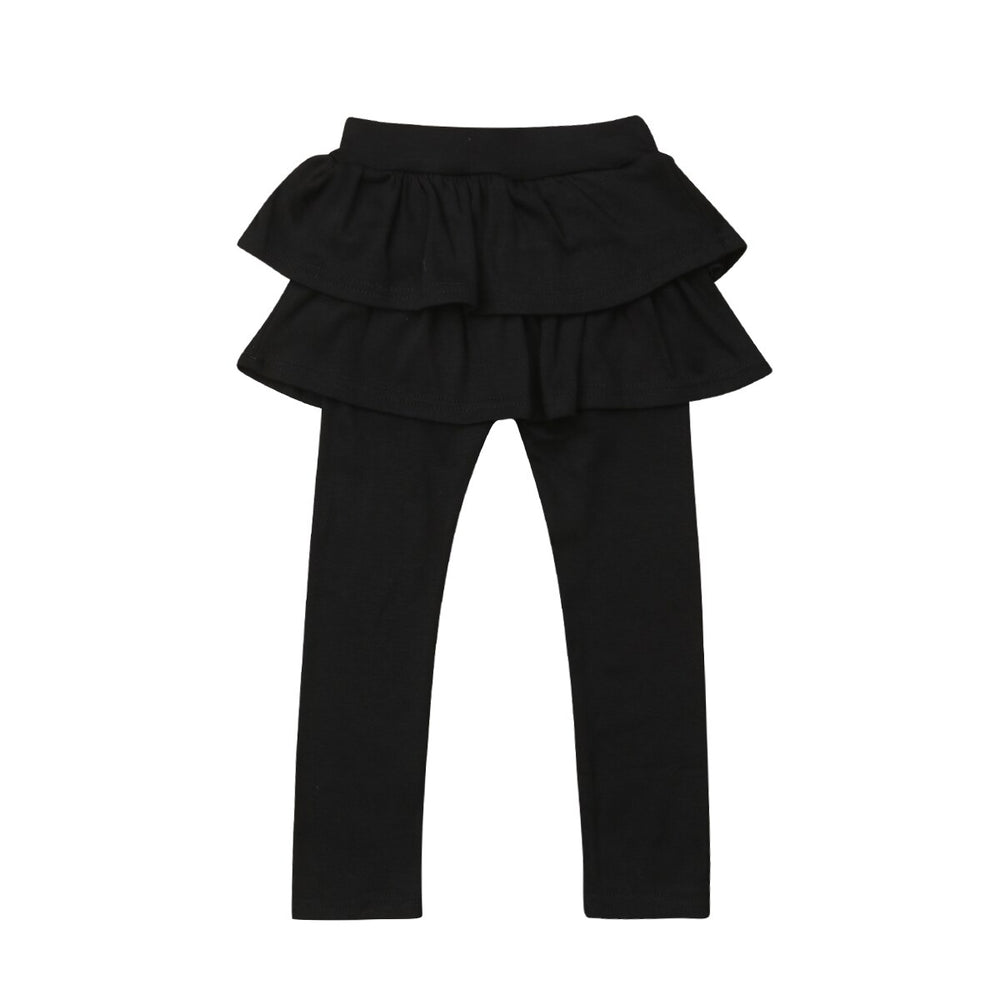 Leggings With Ruffle Tutu Skirt