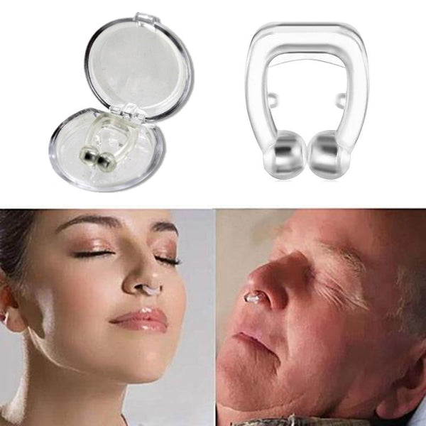 1/5pcs Anti Snore Round Nose Clip