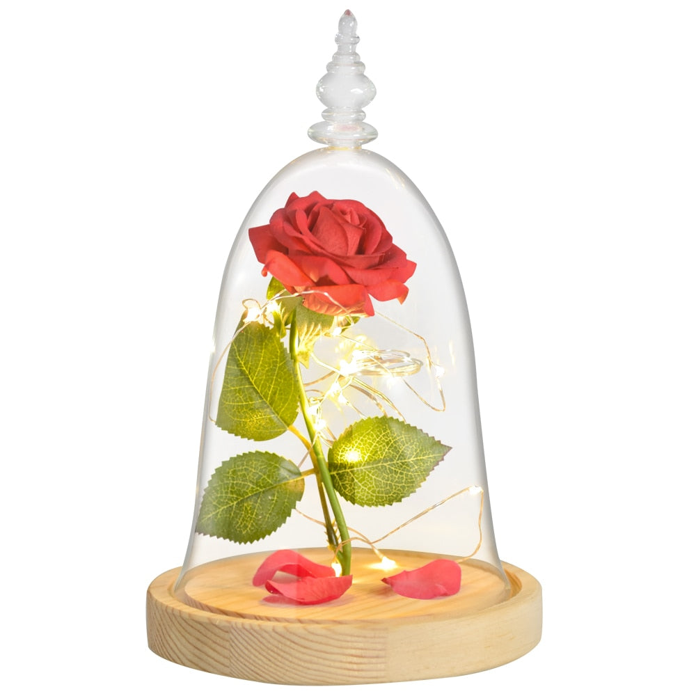 Beauty and the Beast Eternal Rose