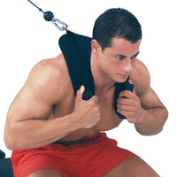 Pulling Harness Abdominal Crunch Straps
