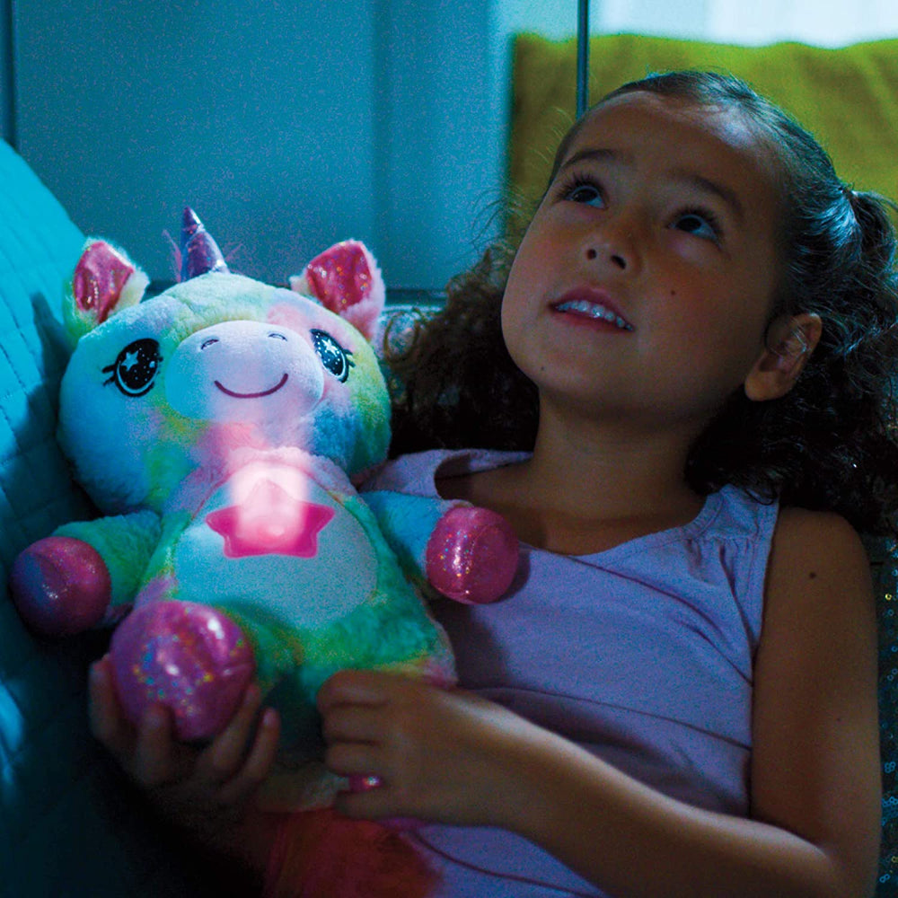 Stuff Animal With Light Projector