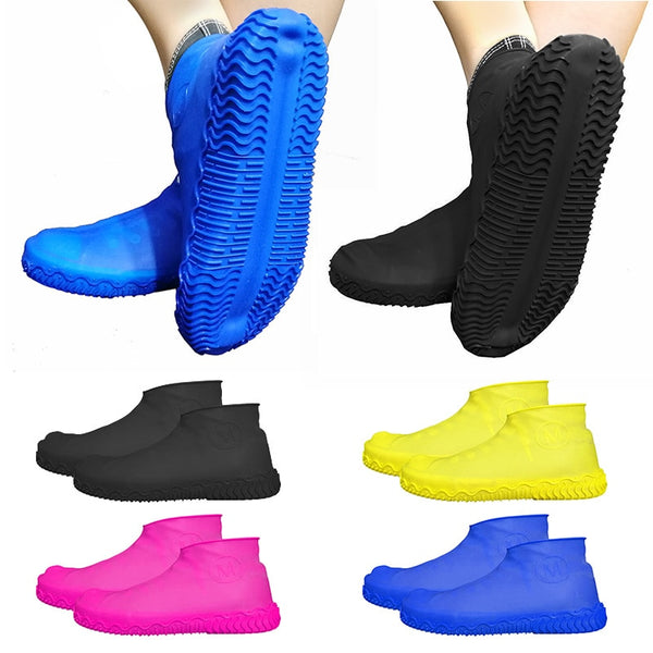 1 Pair of Reusable Silicone Shoes Cover