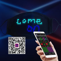 Christmas Gift Smart Magic LED Face Mask