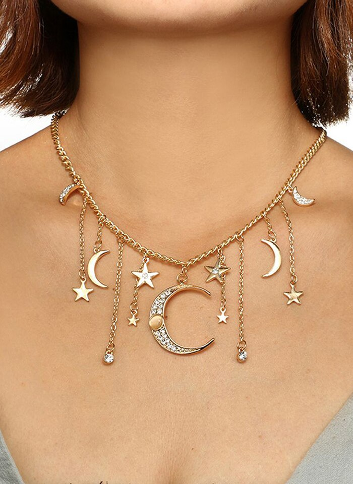 Fashion Moon Necklace