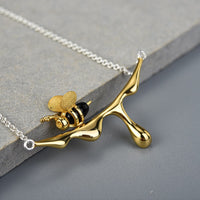 Dripping Honey Bee Jewelry Set