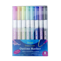 8 Colors Art Christmas Highlighter Pens