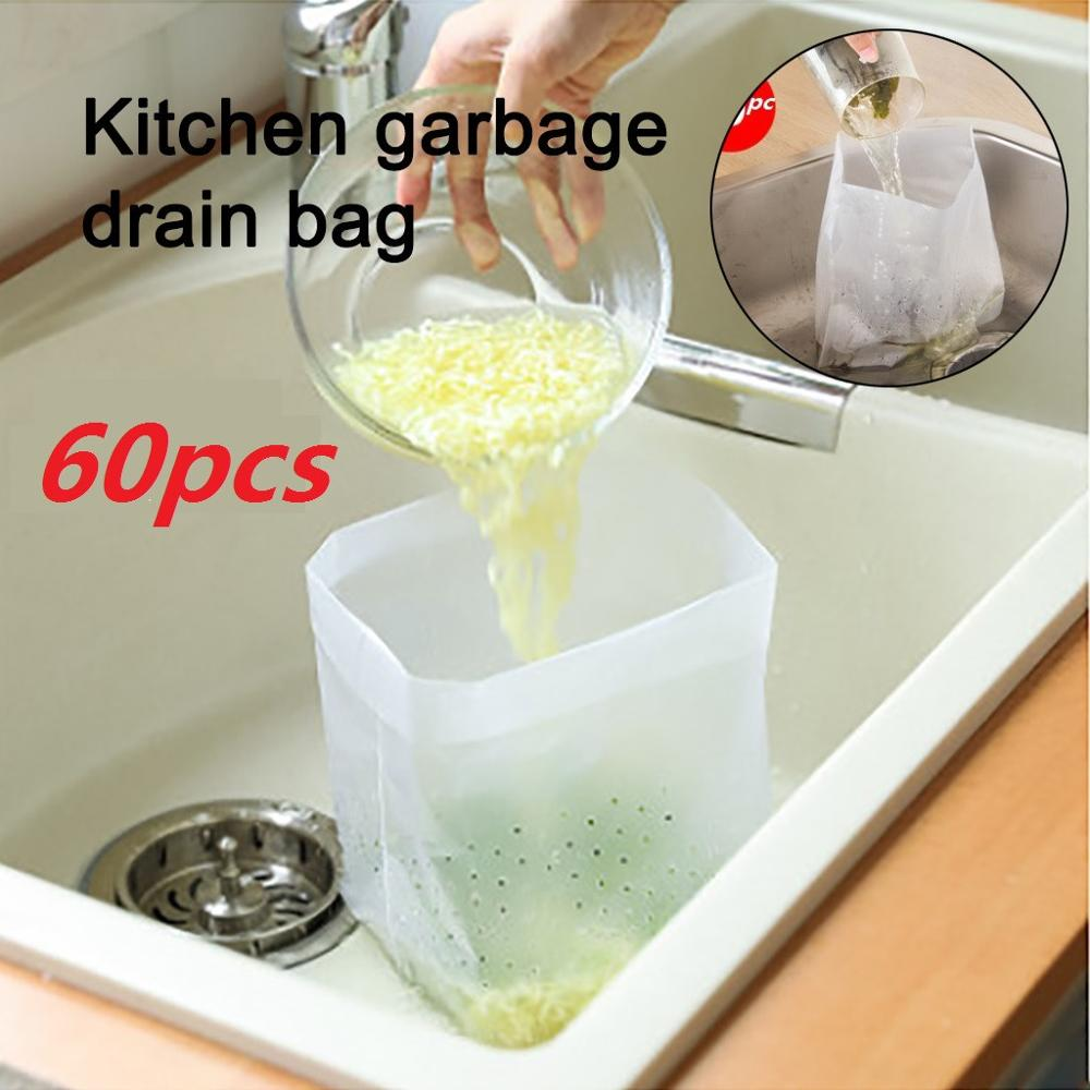 60pcs Kitchen Large Sink Strainer Plug Stopper