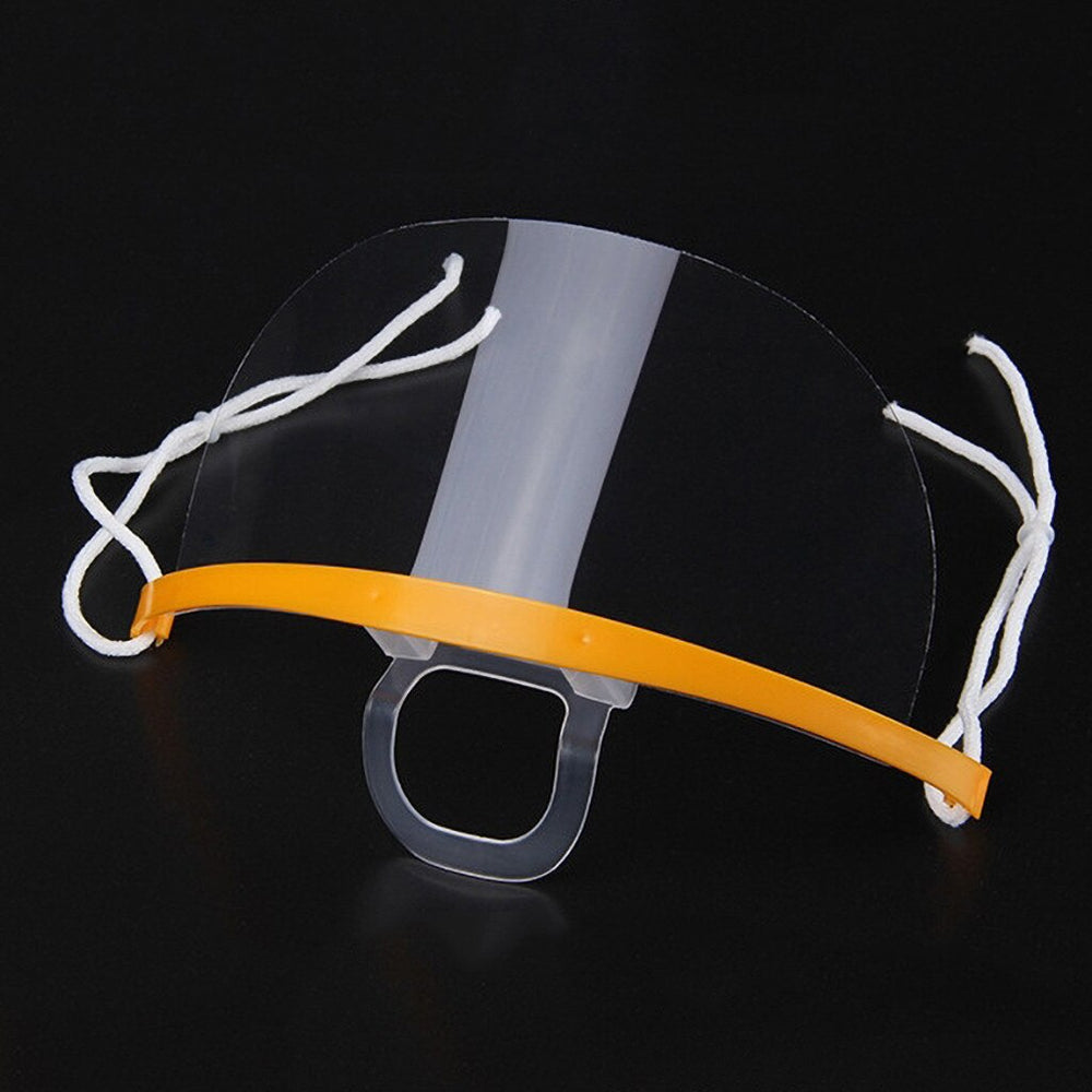 Kitchen Anti-Fog and Oil-Free Transparent Face Cover