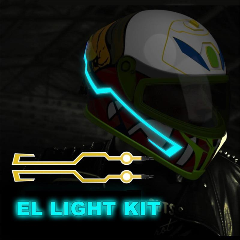 Motorcycle Helmet Lighting Kit
