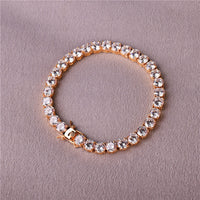 Crystals Chain Bracelet