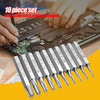 10 pcs CR-V Torx Bits Set