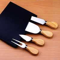 Bamboo Cheese Cutter Set