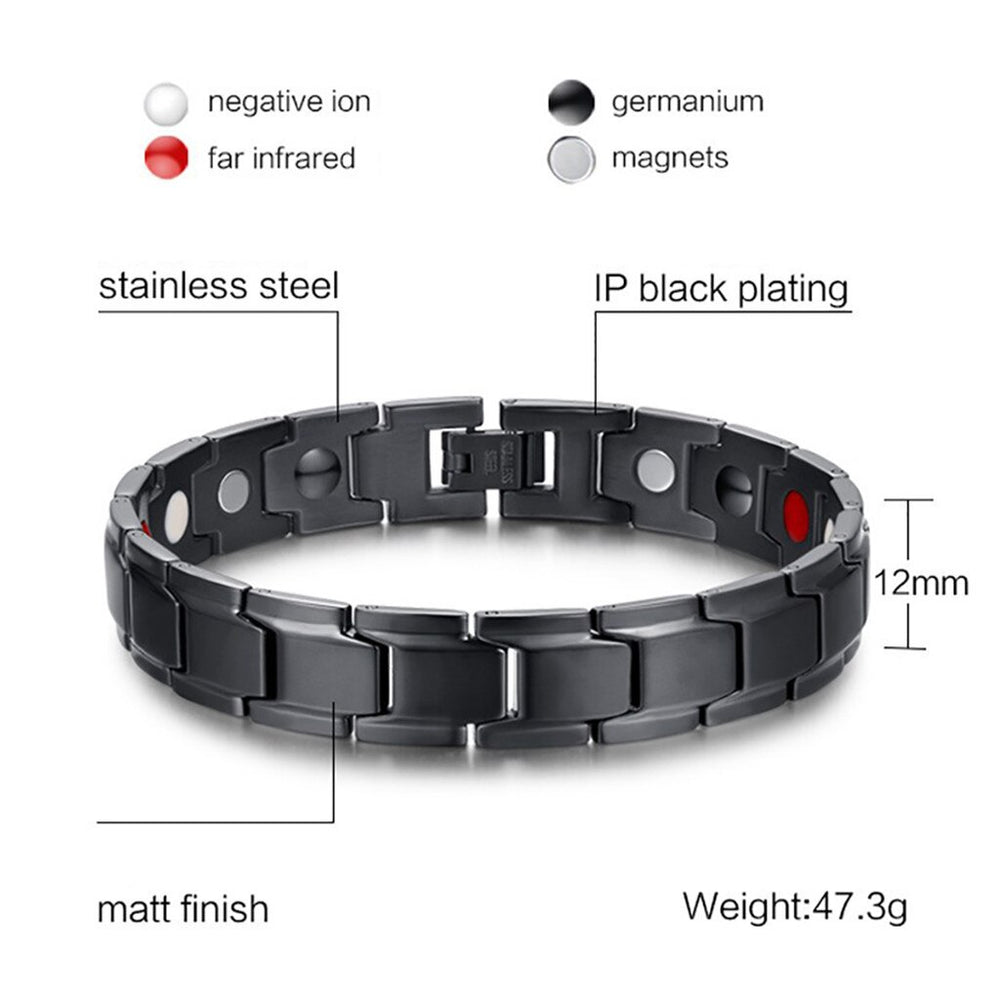 Stainless Steel Magnetic Health Bracelet