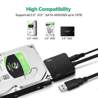 USB 3.0 to SATA 3 Cable Adapter