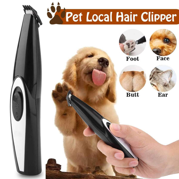 Electric pet grooming trimmer
