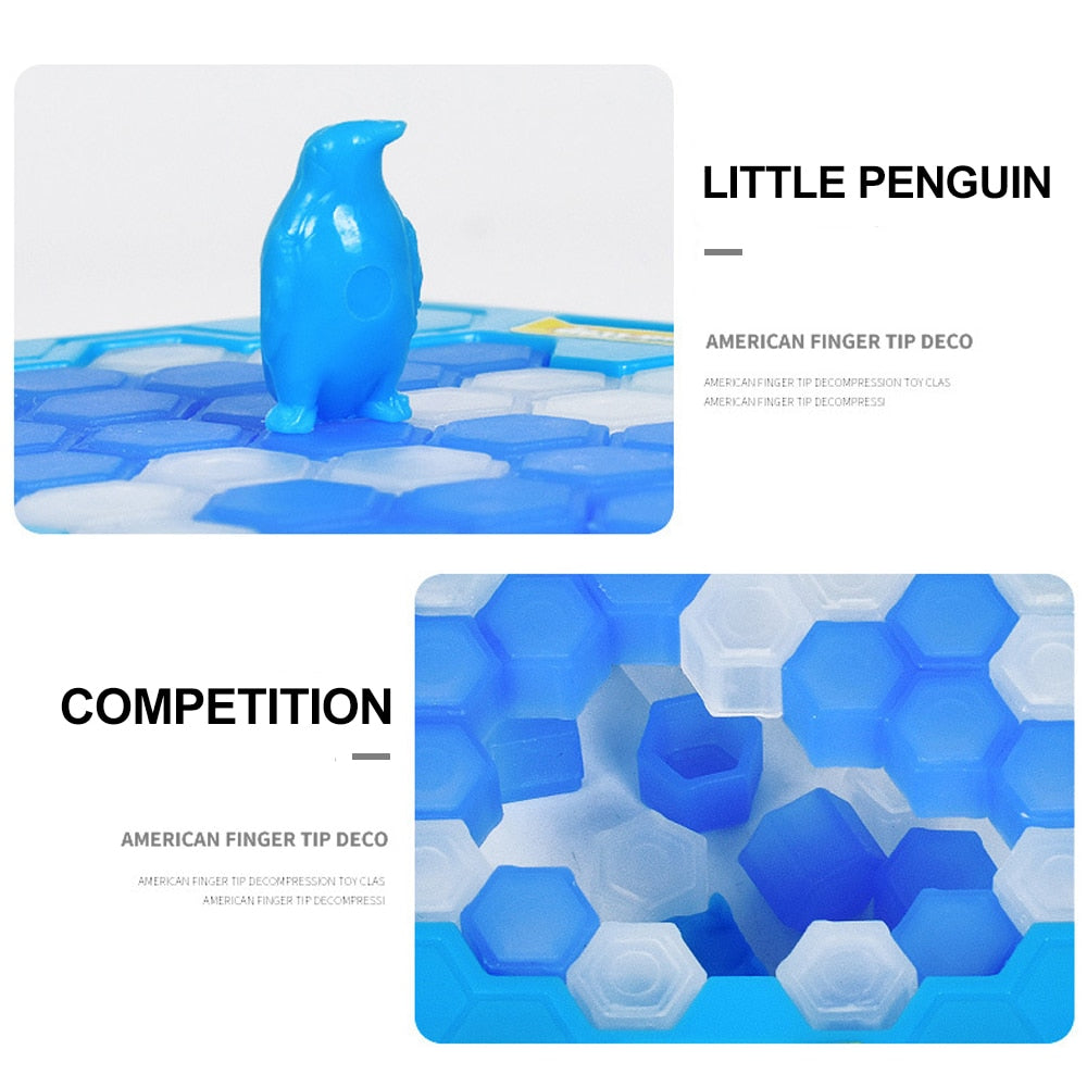 Penguin Break Ice Puzzle Game
