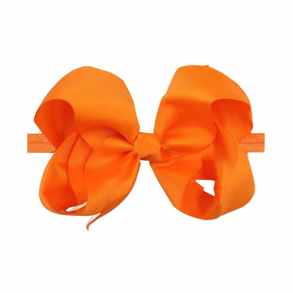 20 Pcs Big Bows Baby Headbands