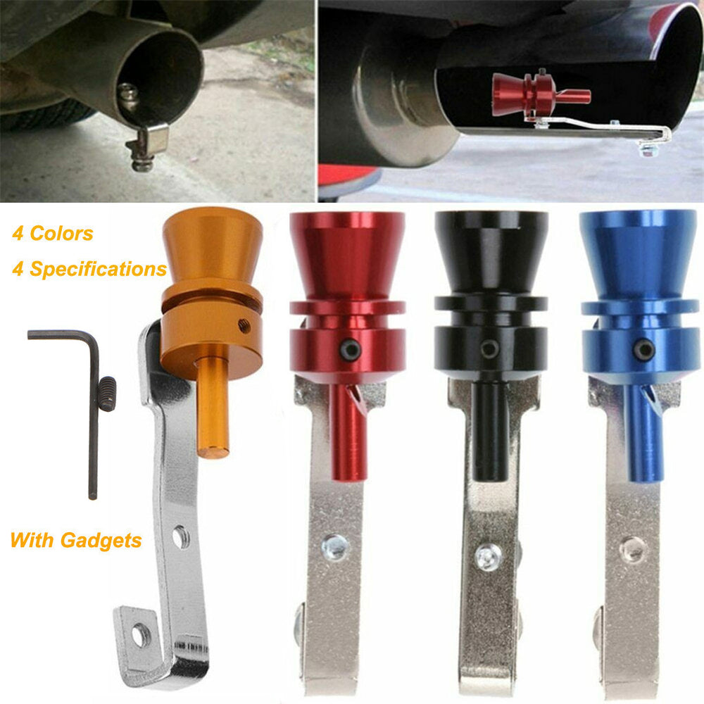 Universal Turbo Whistle Sound Pipe Exhaust