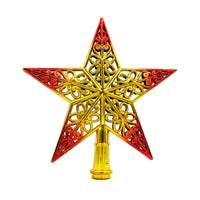 Christmas Tree Top Sparkle Stars Hang