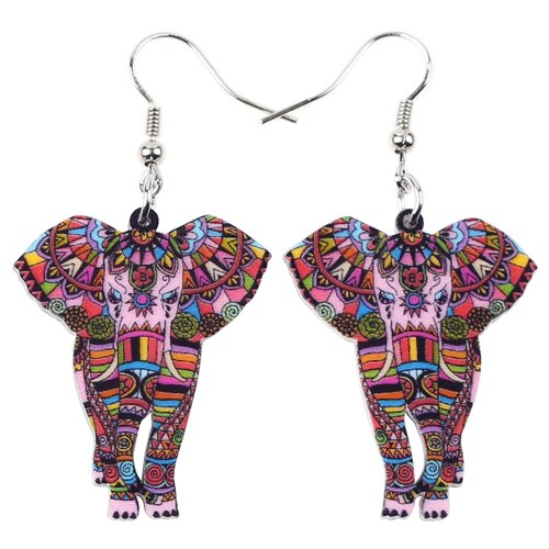 Elephant Dangle Earrings