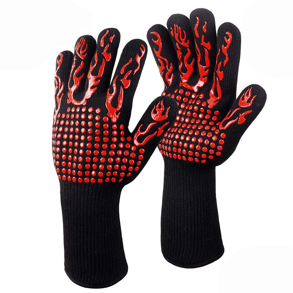 1 Pair BBQ Grilling Gloves