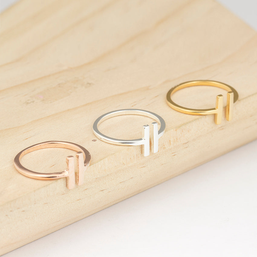 Open Parallel Bars Adjustable Ring