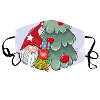 Washable Christmas Protective Cloth Mask