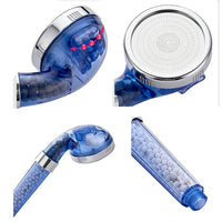 3 Modes Bath Shower Head