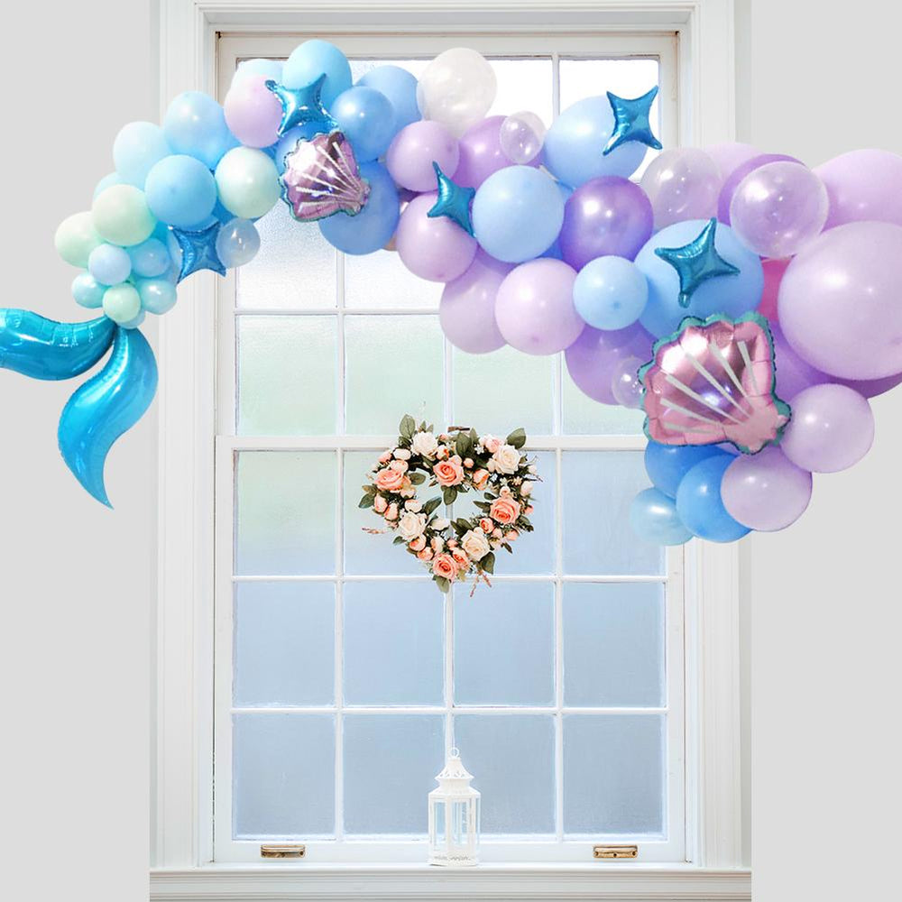 DIY Mermaid Balloon Garland Set